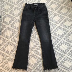 Madewell Cali-Demi boot cut jeans!